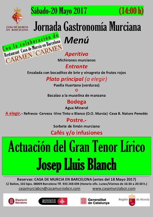 Jornada gastronom a murciana 20 de mayo 2017 for Casas de citas en murcia