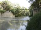 Río Segura pequeño salto de agua